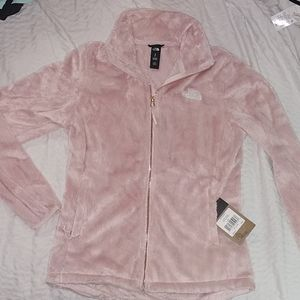The North Face W Osito Jacket sz:sm (lgt pink!!!!)